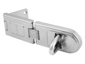Wrought Steel Single Hinged Hasp 200mm
