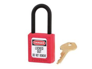 Lockout Padlock – 38mm Body & 6mm Composite Nylon Shackle