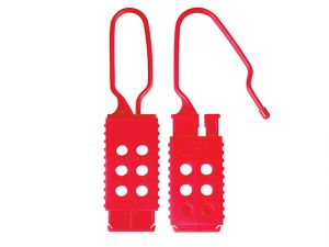 Lockout Nylon Hasp - Non Conductive