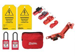 Electrical Lockout / Tagout Kit 9-Piece