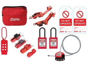 General Maintaince Lockout / Tagout Kit 15-Piece
