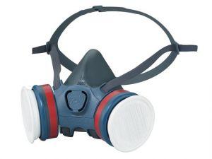 Series 7000 Half Face Mask (Medium) 2 x ABEK1P3 R Filters