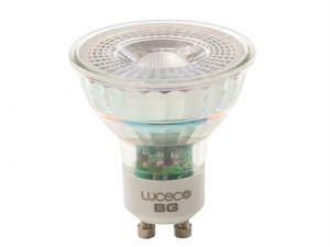 LED GU10 Glass Bulb Non-Dimmable 370 Lumen 5 Watt 2700K Box