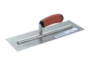 MPB145D Pre-Worn Plasterer's Trowel DuraSoft® Handle 14 x 5in