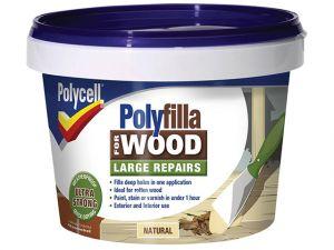 Polyfilla 2 Part Wood Filler Natural 500g
