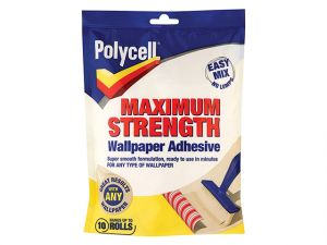 Maximum Strength Wallpaper Adhesive 5 Roll