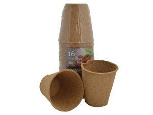 PF Fibre Pots Round 8cm (16)