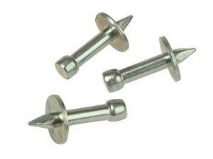04 044 Washered Masonry Nails 3.7 x 25mm Pack of 100