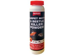 Carpet Moth & Beetle Killer Powder