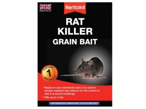 Rat Killer Grain Bait, 1 Sachet