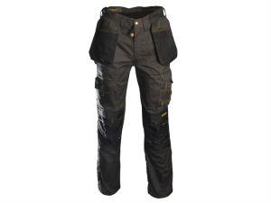 Black & Grey Holster Work Trousers Waist 40in Leg 33in