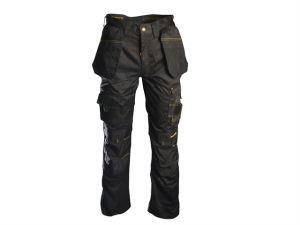 Black Holster Work Trousers Waist 30in Leg 33in