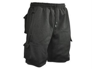 Jogger Shorts Black Waist 30in