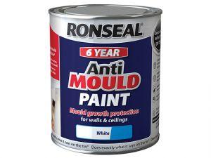 6 Year Anti Mould Paint White Silk 750ml