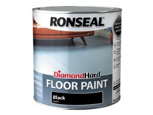 Diamond Hard Floor Paint Black 2.5 Litre