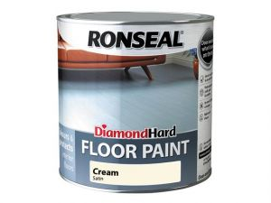 Diamond Hard Floor Paint Cream 2.5 Litre