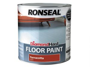 Diamond Hard Floor Paint Terracotta 2.5 Litre
