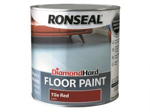 Diamond Hard Floor Paint Tile Red 2.5 Litre