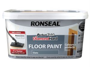 Diamond Hard Perfect Finish Floor Paint White 2.5 Litre
