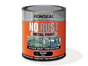 No Rust Metal Paint Smooth White 2.5 Litre