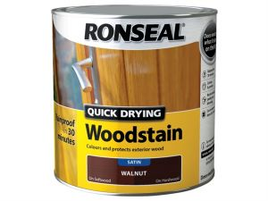 Quick Drying Woodstain Satin Rosewood 2.5 Litre