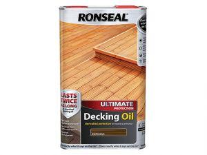 Ultimate Protection Decking Oil Dark Oak 5 Litre