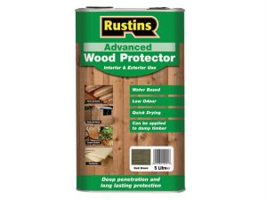 Quick Dry Advanced Wood Protector Black 5 Litre