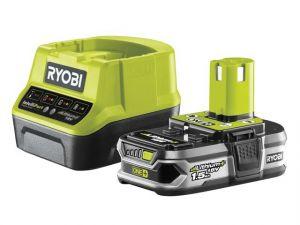 RC18120-115 ONE+ Compact Charger 18V & 1 x 18V 1.5Ah Li-ion Battery