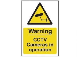 Warning CCTV Cameras In Operation - PVC 200 x 300mm