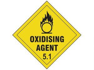 Oxidising Agent 5.1 SAV - 100 x 100mm