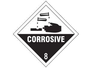 Corrosive 8 SAV - 100 x 100mm