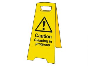 Caution Cleaning In Progress Heavy-Duty A Board