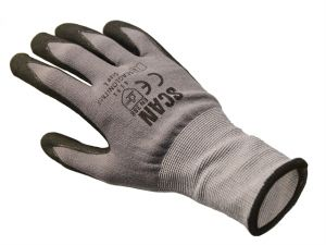 Breathable Microfoam Nitrile Gloves Size 9 Large