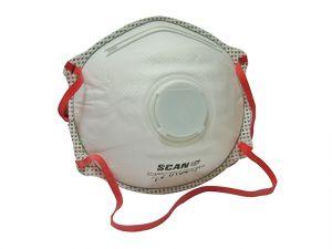 Moulded Disposable Valved Masks FFP3 (Pack 2)