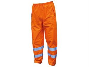 Hi-Vis Motorway Trouser Orange - XL (44in)