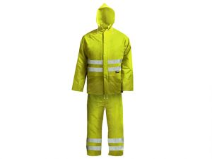 Hi-Visibility Rain Suit, Yellow - L (39-42in)