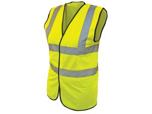 Hi-Vis Waistcoat Yellow - Child 7-9 (32in)