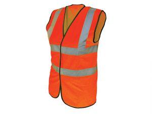 Hi-Vis Waistcoat Orange - L (44in)