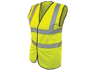 Hi-Vis Waistcoat Yellow - L (44in)