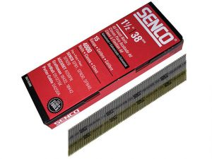 Chisel Smooth Brad Nails Galvanised 15G x 38mm Pack 4000
