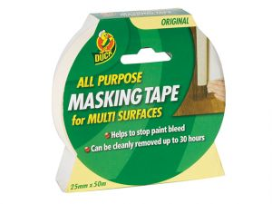 Duck Tape® All Purpose Masking Tape 25mm x 50m