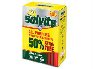All Purpose Wallpaper Paste Sachet 20 Roll + 50% Free