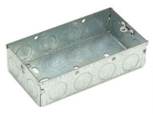 Metal Box 2 Gang 47mm Depth - Loose