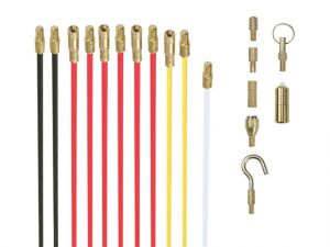 Cable Rods 10m Deluxe Set with 8 Attachments