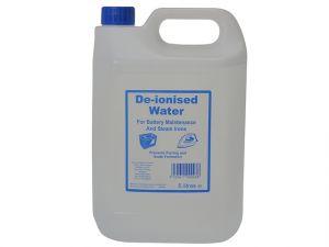 De-ionised Water 5 Litres
