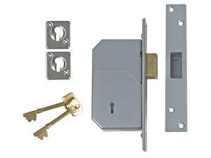 3G110 C Series 5 Detainer Deadlock 73mm Satin Brass