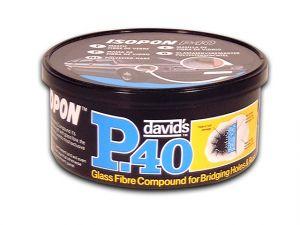 P40 Body Filler for Holes Tin 250ml