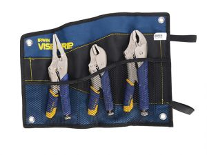 Fast Release™ Locking Pliers Set of 3 7R  9LN & 10WR