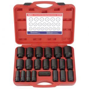 Genius 3/4in. Drive 21 Piece Deep Impact Socket Set Metric 19 - 50mm